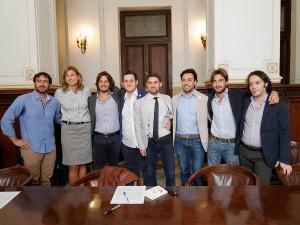 Conferenza di lancio della campagna di crowfounding per il Parolimparty - Palazzo dei leoni - Messina