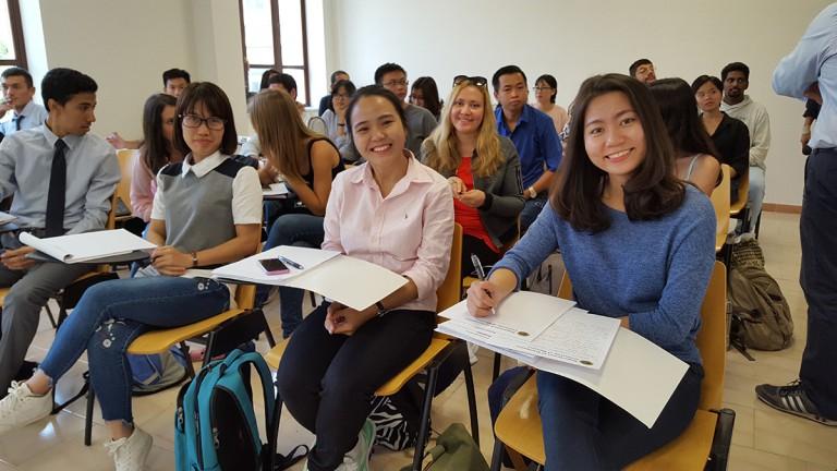 Foto degli studenti stranieri iscritti all'università di messina nell'aa 2017/2018