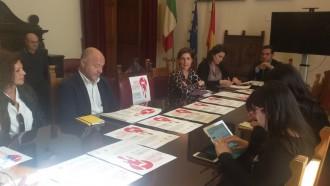 """Iniziativa #30giorniNo, foto conferenza stampa """"Un posto occupato"""" e Comune di Messina"""
