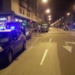 Foto dei Carabinieri di Messina durante un posto di blocco
