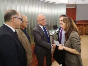 Foto di Gaetano Armao con presidente Tajeria