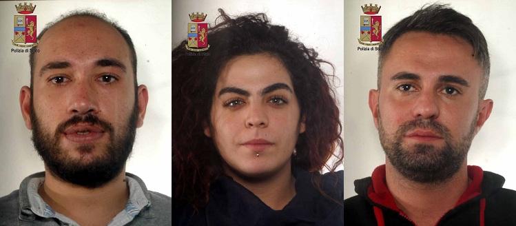 Luciano Alessandro Gatto, Sarah Niciforo, Guido Bonanno