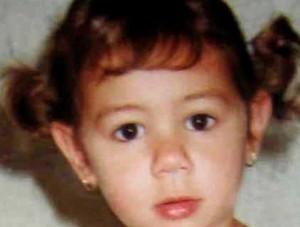 Una foto di archivio della piccola Denise Pipitone, la bimba rapita il primo settembre del 2004