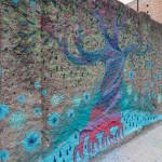 Murale di Diala Brisly in via XXIV maggio - Messina