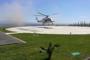 Eliporto di Taormina. Salvata la struttura costata circa 2 milioni di euro