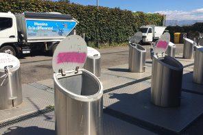 contenitori interrati dell'isola ecologica di giampilieri - Messina