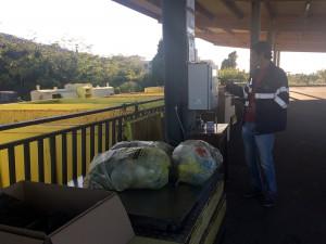 procedura di pesatura all'isola ecologica di spartà - messina