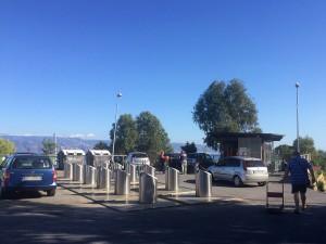 contenitori interrati dell'isola ecologica di tremonti - Messina