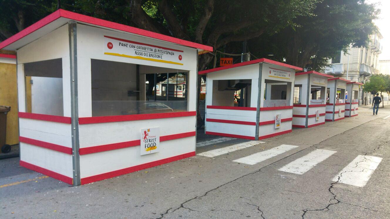 Foto degli stand del Messina Street Food Fest 2017