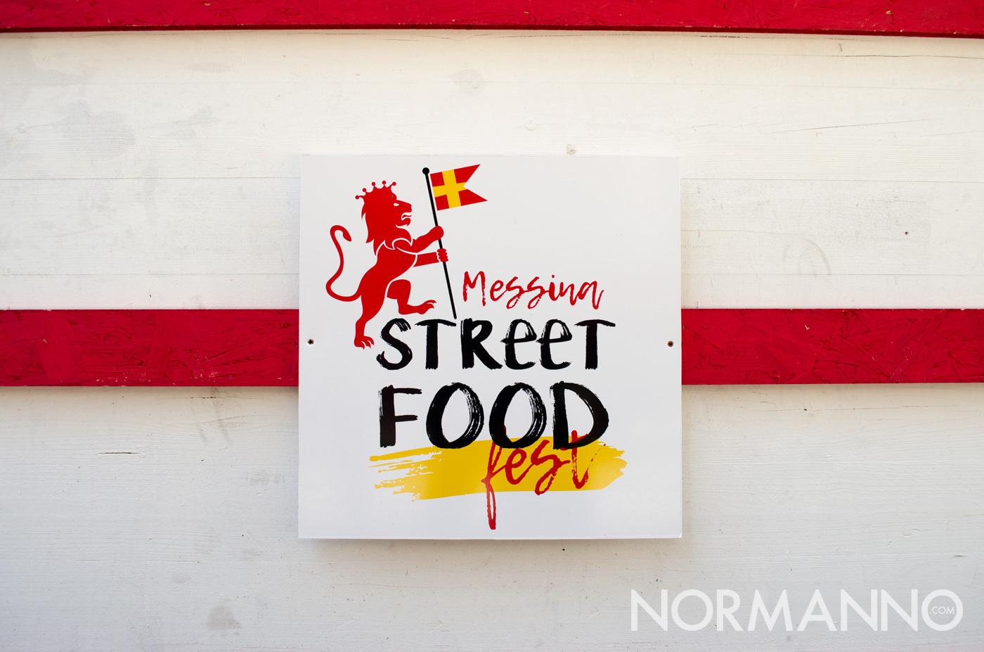 Dettaglio stand con logo - Messina Street Food Fest 2017