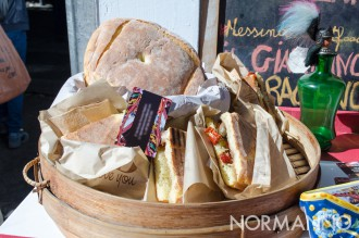 Pane cunzatu, Giardino del Saraceno - Messina Street Food Fest 2017
