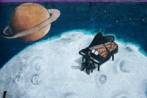 Musica e scienza per un mondo migliore: ecco i murales dello Spazio Gazzi Arte – FOTO