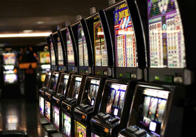 Foto di slot machine - Gioco d'azzardo