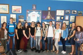 studenti polacchi al Majorana di milazzo