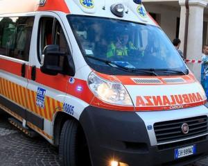 tagli 118: foto ambulanza