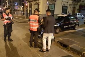 """Operazione """"Movida"""" dei Carabinieri: 6 auto sequestrate e 5 patenti ritirate"""