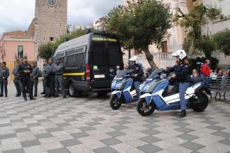 Foto sicurezza G7 Pari Opportunità Taormina - Polizia di Stato e Guardia di Finanza