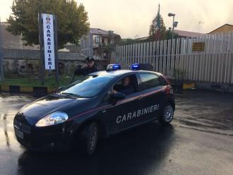 Foto di un'auto dei carabinieri