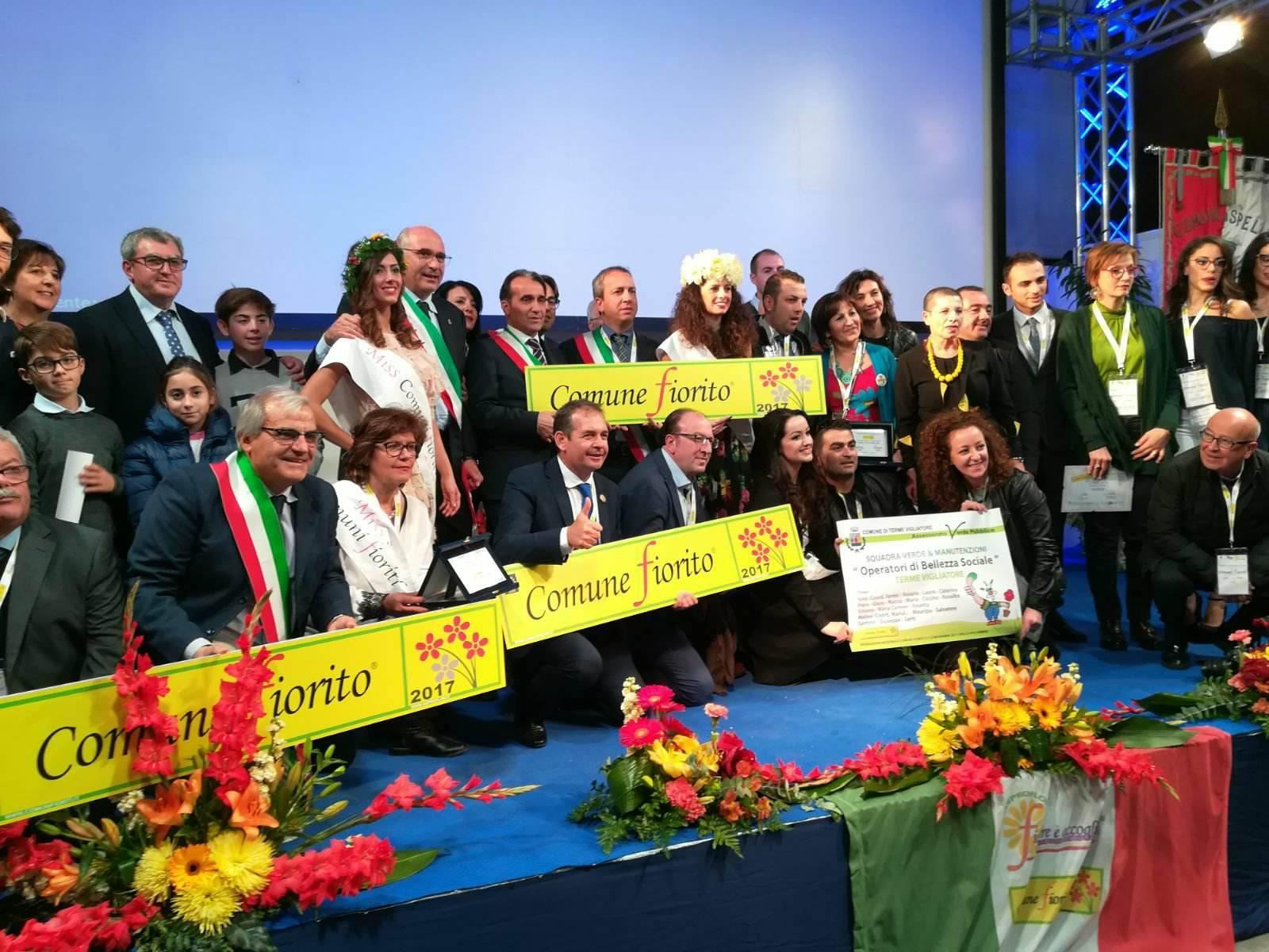 Concorso nazionale Comuni Fioriti: premiati 9 comuni della provincia di Messina