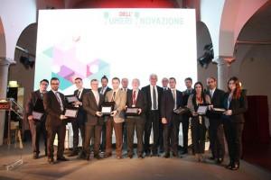 I vincitori del Premio Innovazione Leonardo (fonte: Leonardo)