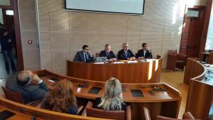 conferenza stampa di presentazione dell'app dell'università di messina unime mobile - sala senato del rettorato