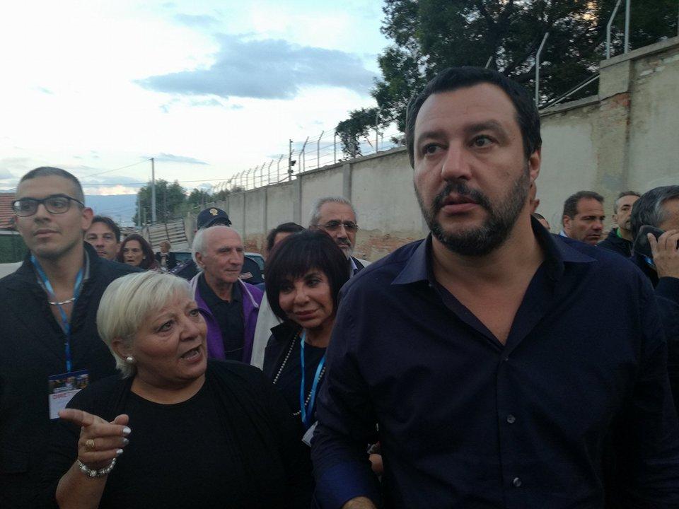 Matteo Salvini - rione taormina
