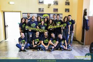 foto di gruppo dello startup weekend messina - innovazione, idee, creatività, imprenditoria