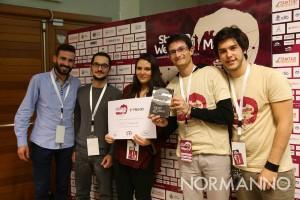 startup weekend messina 2017 - premiazione team easy casa 24, secondo posto - palacultura