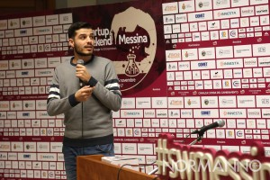 startup weekend messina 2017 - claudio branca del team vincitore dell'edizione 2016 - palacultura