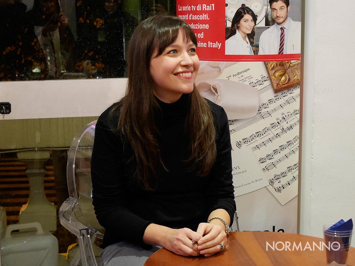 Alessia Gazzola alla Gilda dei narratori di Messina a presentare il suo ultimo romanzo, Arabesque