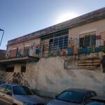 foto murales blu casa del portuale