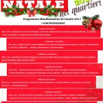 natale nei quartieri - eventi natalizi - locandina I Quartiere - messina