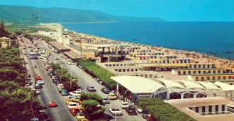 Lido di Mortelle, foto degli anni '70
