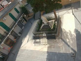 Piazza Semiramide ristrutturata - Bordonaro - Messina