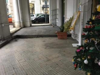 Pavimentazione portici piazza del popolo - messina