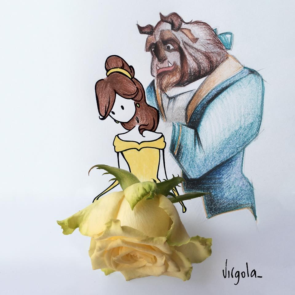 foto di una vignetta Virgola