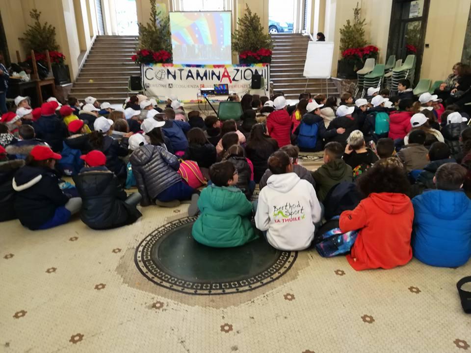 contaminazioni fest dedicato ai diritti umani - galleria vittorio emanuele - messina