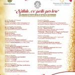 natale nei quartieri - eventi natalizi - locandina V Quartiere - messina