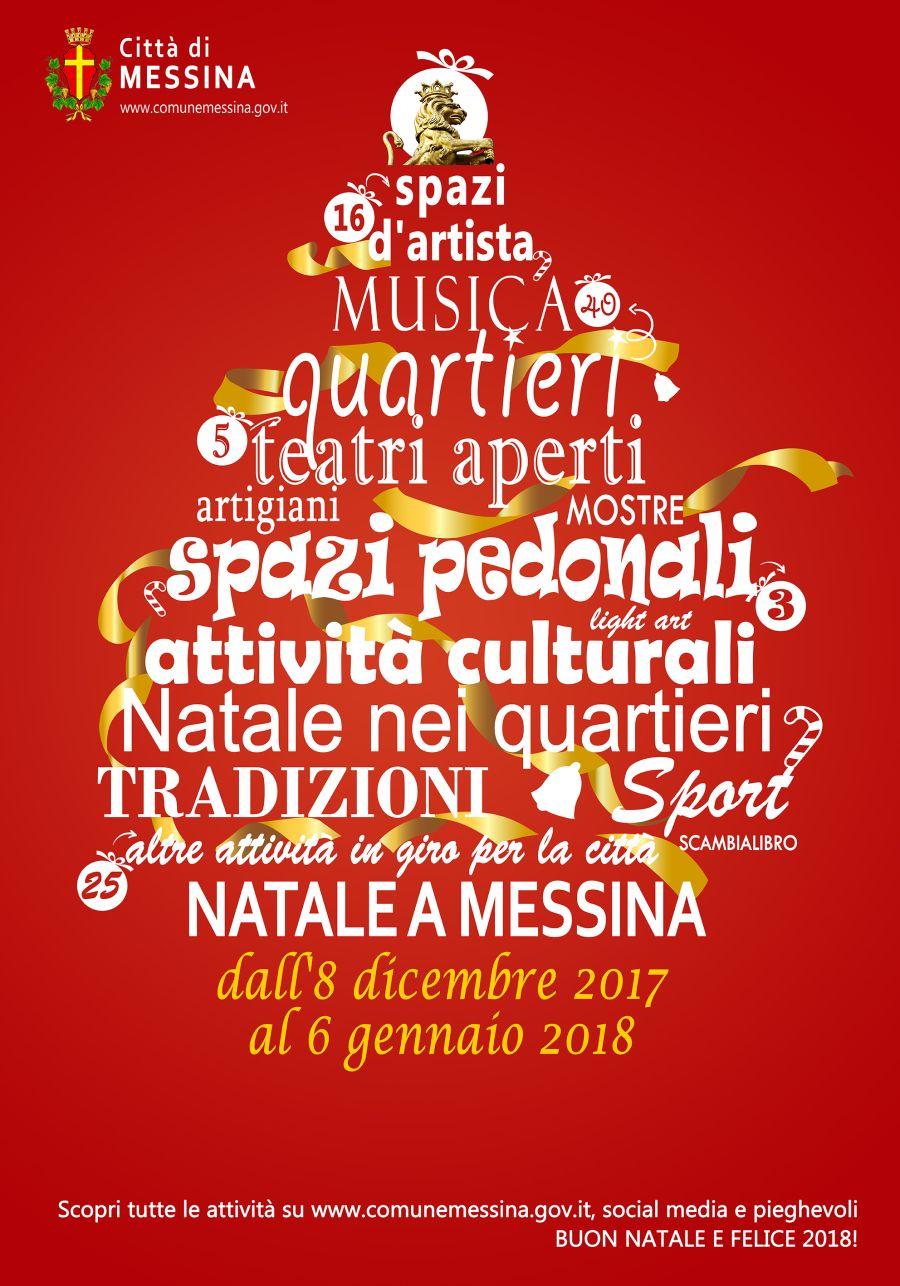 Eventi Natale.Natale A Messina Si Parte Oggi Con Oltre 60 Eventi Ecco Il