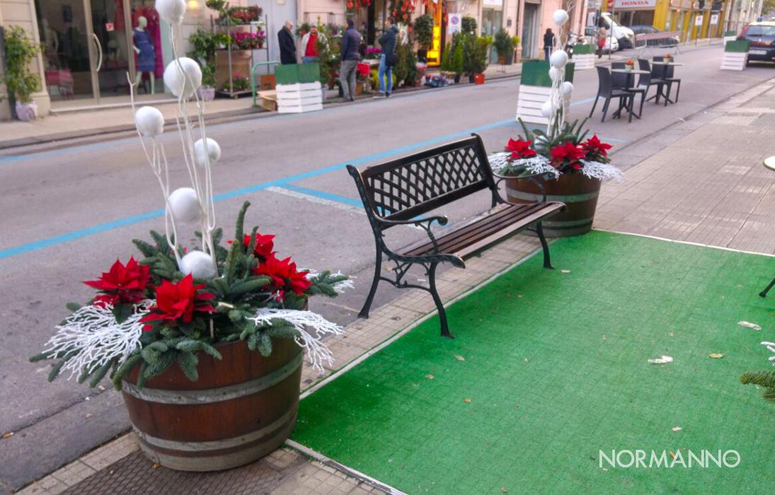 Foto 05 - Addobbi natalizi Messina, Via dei Mille