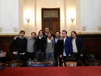 conferenza stampa conclusiva del crowdfunding del parolimparty alla città metropolitana - messina