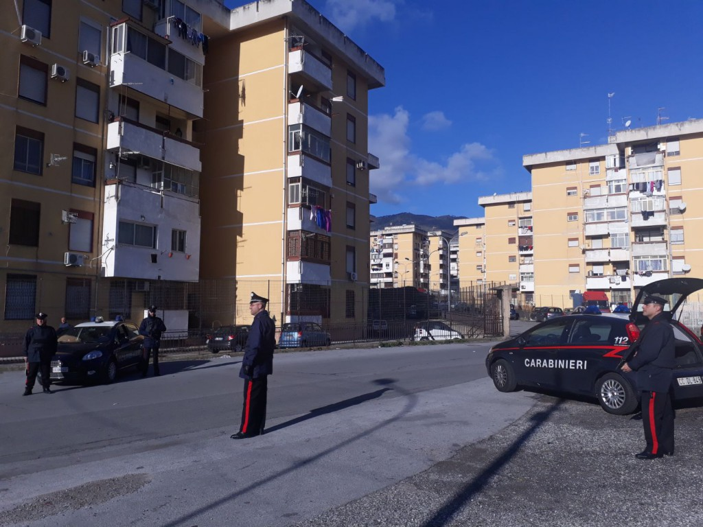 Bordonaro Controlli dei Carabinieri a