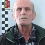 Foto segnaletica arresto Domenico Cara