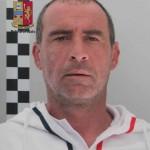 Foto segnaletica arresto Domenico Di Gregorio