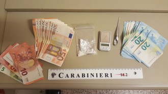 Foto della refurtiva sequestrata dai carabinieri a un pluripregiudicato responsabile di spaccio di droga