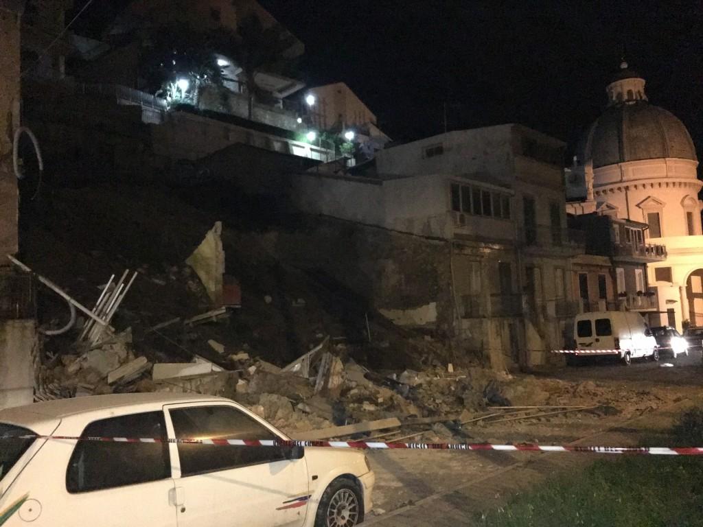 crollo casa a Pace