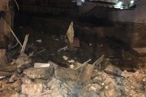 Messina. Crolla casa a Pace. Tanta paura ma nessun ferito – FOTO