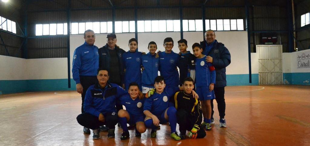 foto squadra calcio giovanile