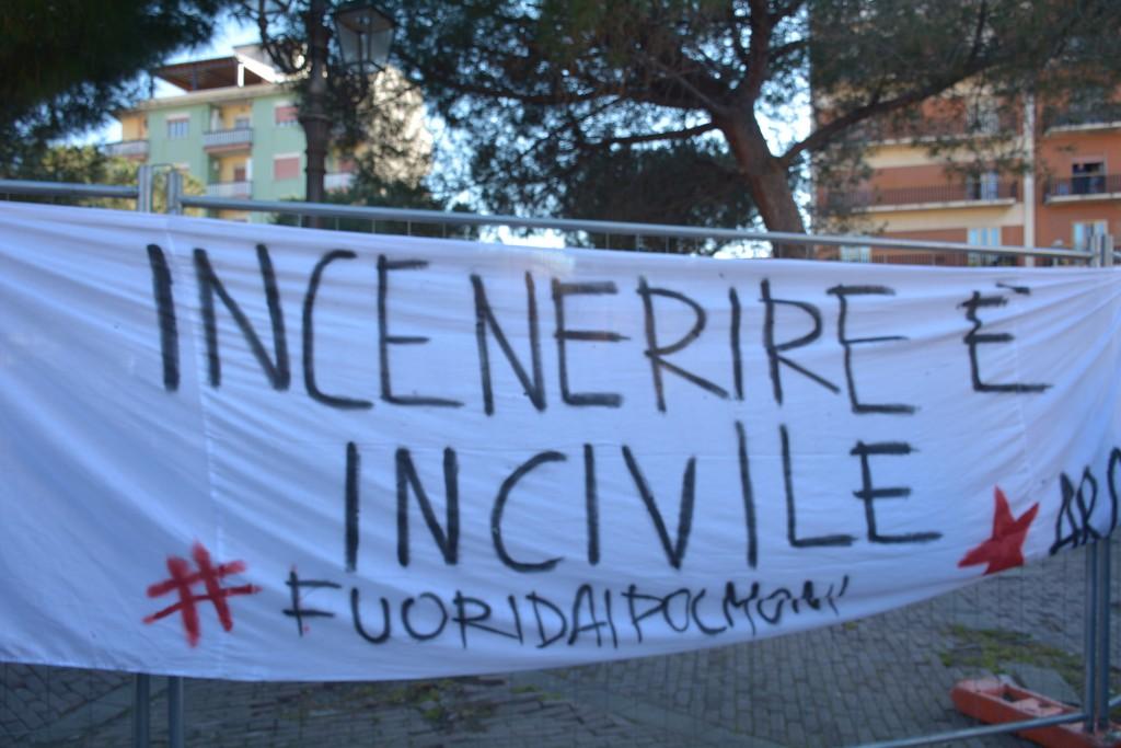 Manifestazione contro inceneritore Valle del Mela - 01