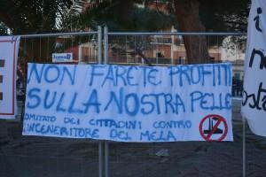 Manifestazione contro inceneritore Valle del Mela - 02